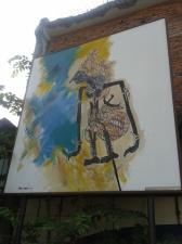 lukisan wayang